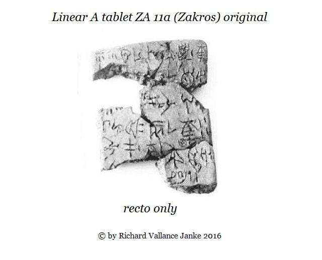 Zakros ZA 11a original