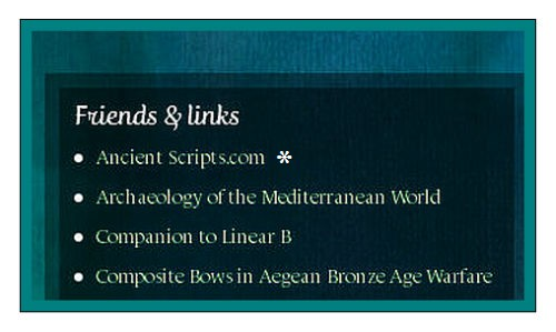 ancient scripts link LBK&M