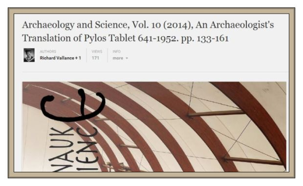 Archaeology and Sciene Belgrade