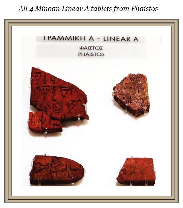 Linear A Phaistos