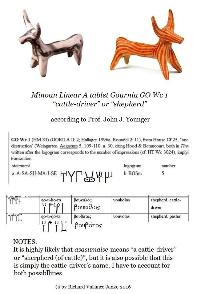 Linear A table GO wc 1 cows