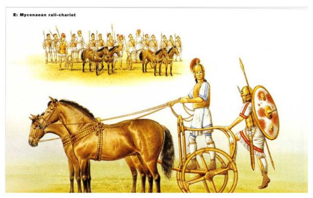 Mycenaean rail chariot