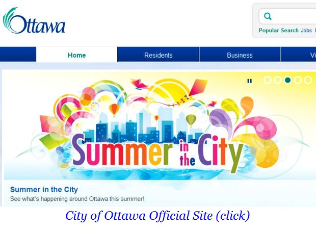 a Ottawa summer in the city
