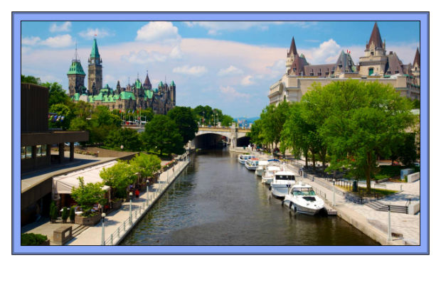 e Ottawa Canada's capital city Rideau Canal