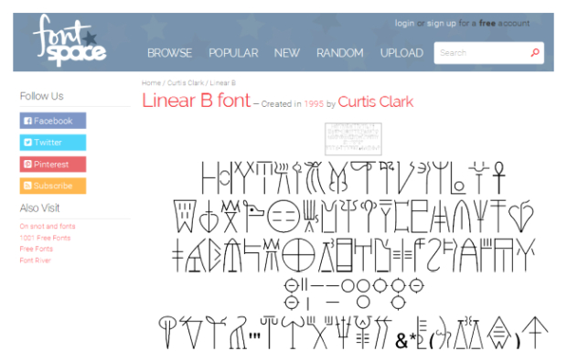 font-space-linear-b-font