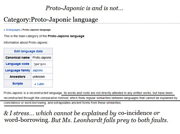 Wiktionary Proto-Japonic
