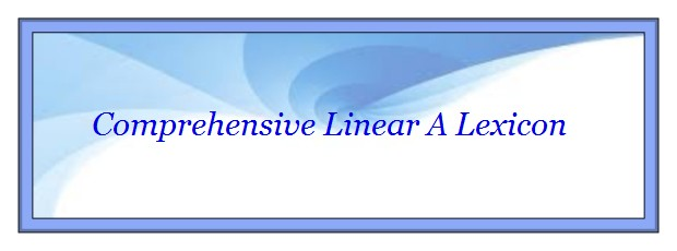 Complete Linear A Lexicon banner