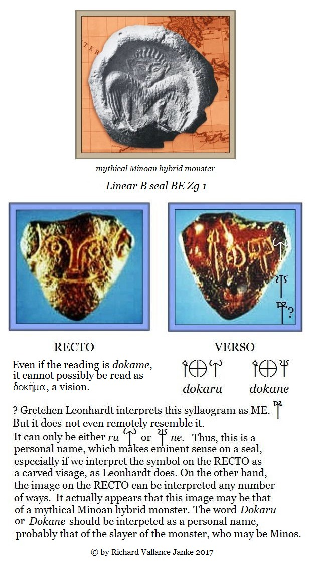 Linear B seal BE Zg 1