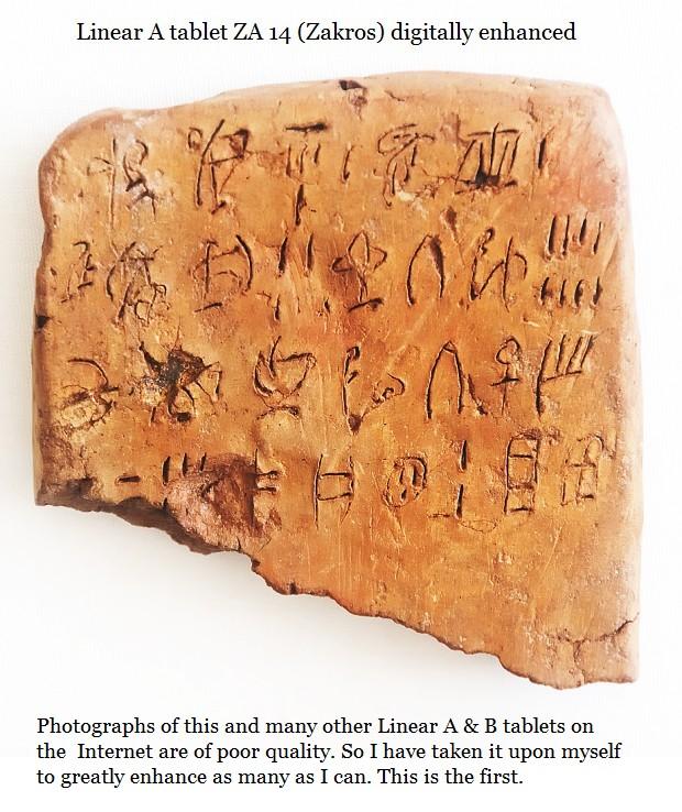 Lineat A tablet digitally enhanced