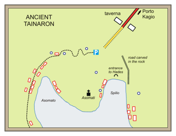 Tainaron ancient Greece