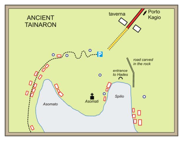 Tainaron ancient Greece