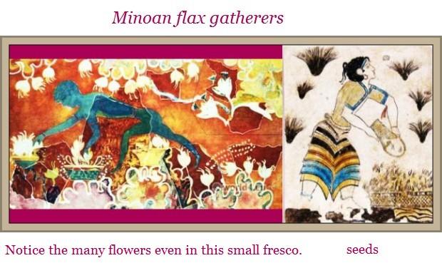 Minoan flax gatherers