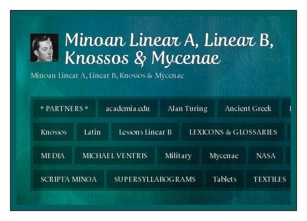Minoan Linear A Linear B Knossos and Mycenae WordPress