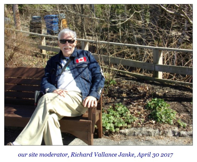 Richard Vallance Janke April 30 2017