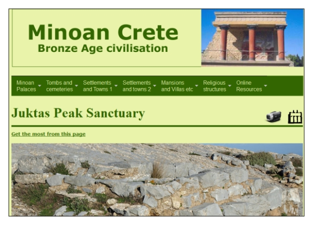 Middle Minoan Juktas Peak Sanctuary