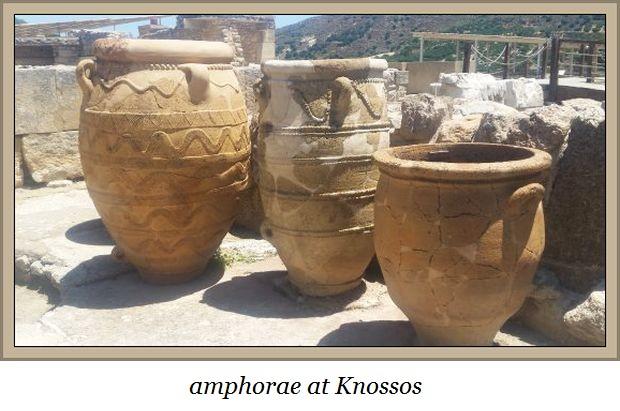amphorae Knossos