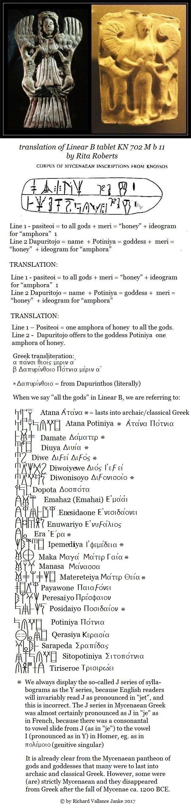 Knossos tablet KN 702 M b 11