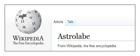 astrolabe Wikipedia