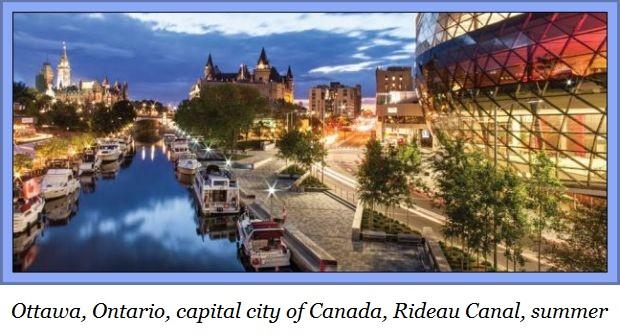 Ottawa Rideau Canal nightb