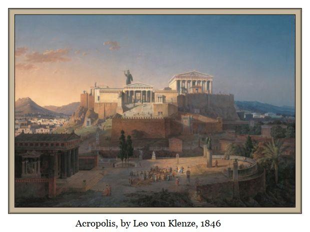Acropolis_by_Leo_von_Klenze