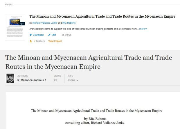 minoan and mycenaean main