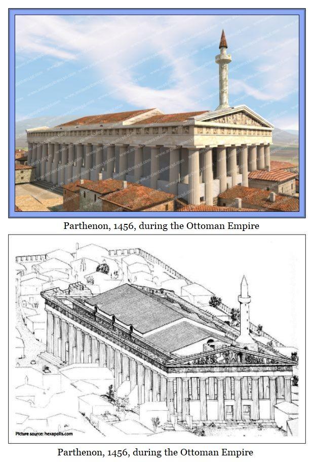 Ottoman parthenon 1456