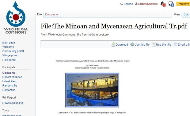 Wikimedia commons Minoan and Mycenaean620