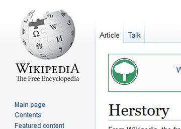 wikipedia herstory