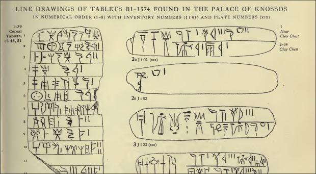 first tablets from scripta minoa vol 2620