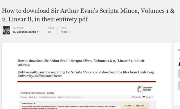 Scripta Minoa main file download