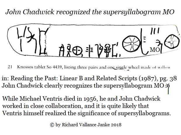 chadwick reading the past linear b 38 MO mono