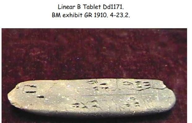 Linear B - KN Dd1171