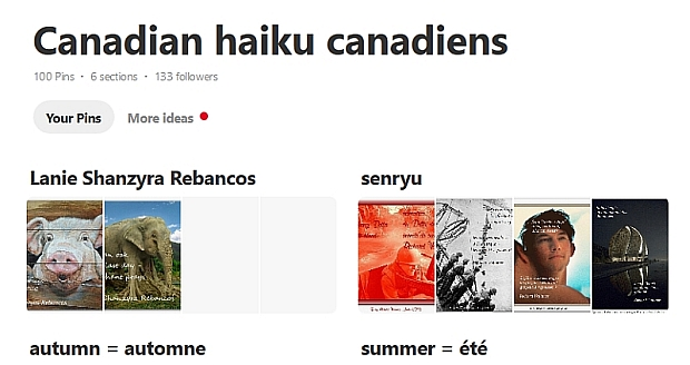 Canadian haiku canadiens 100 haiku December 29 2018 620
