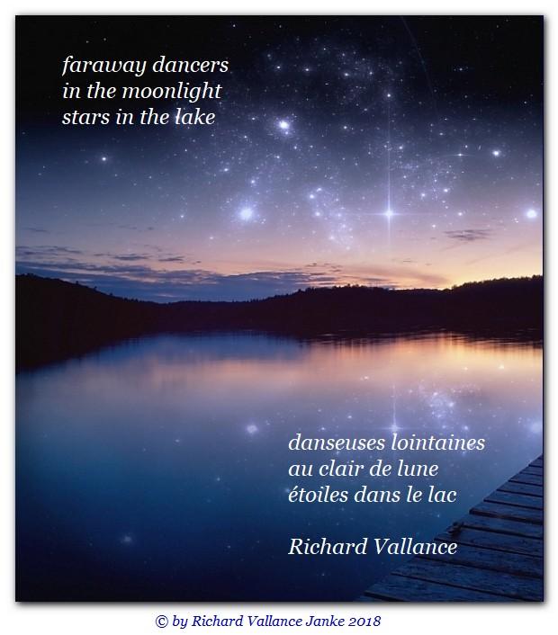 haiku stars in the lake