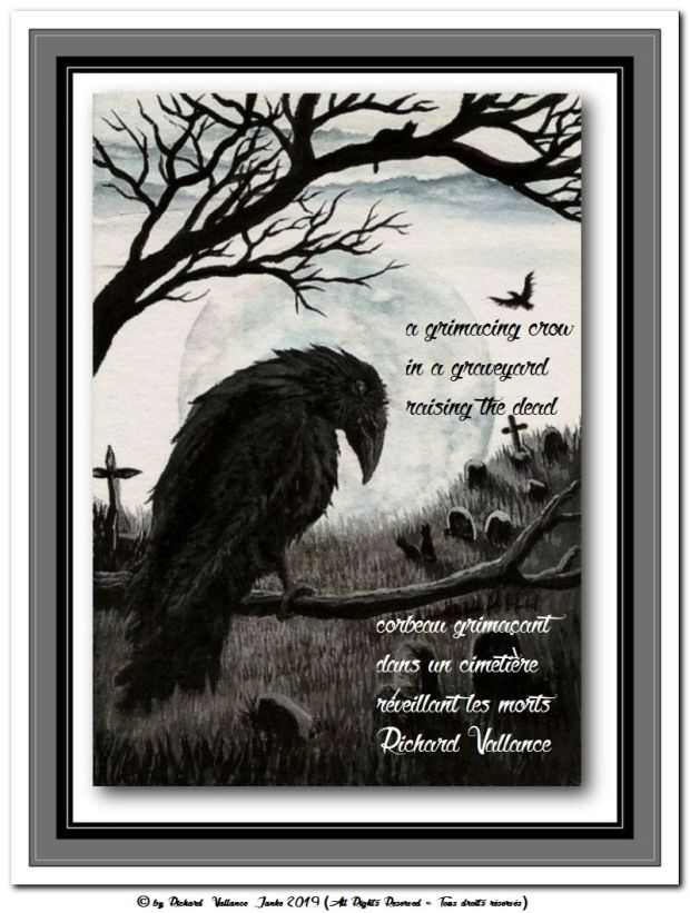 crow in a graveyard nevermore nevermore 620