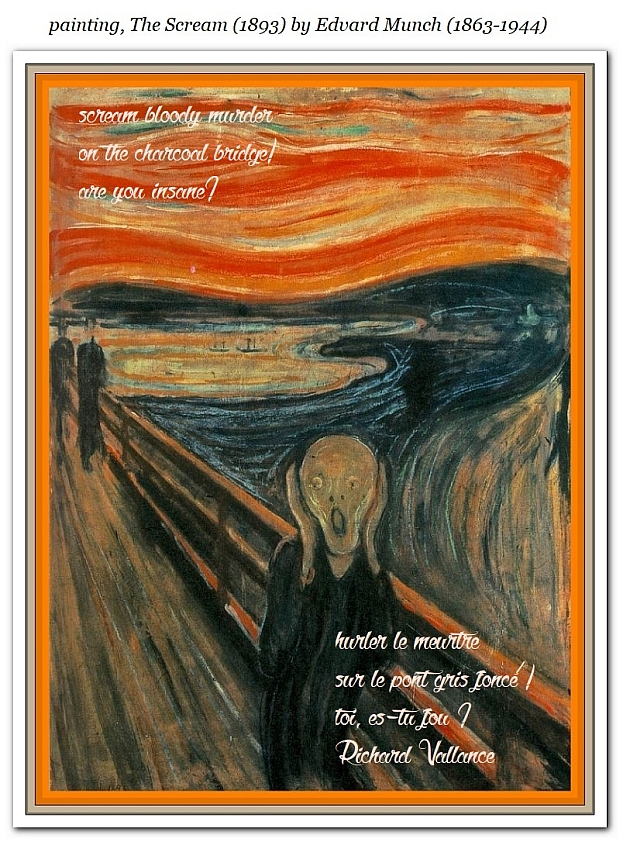 edvard munch the scream haiku 620