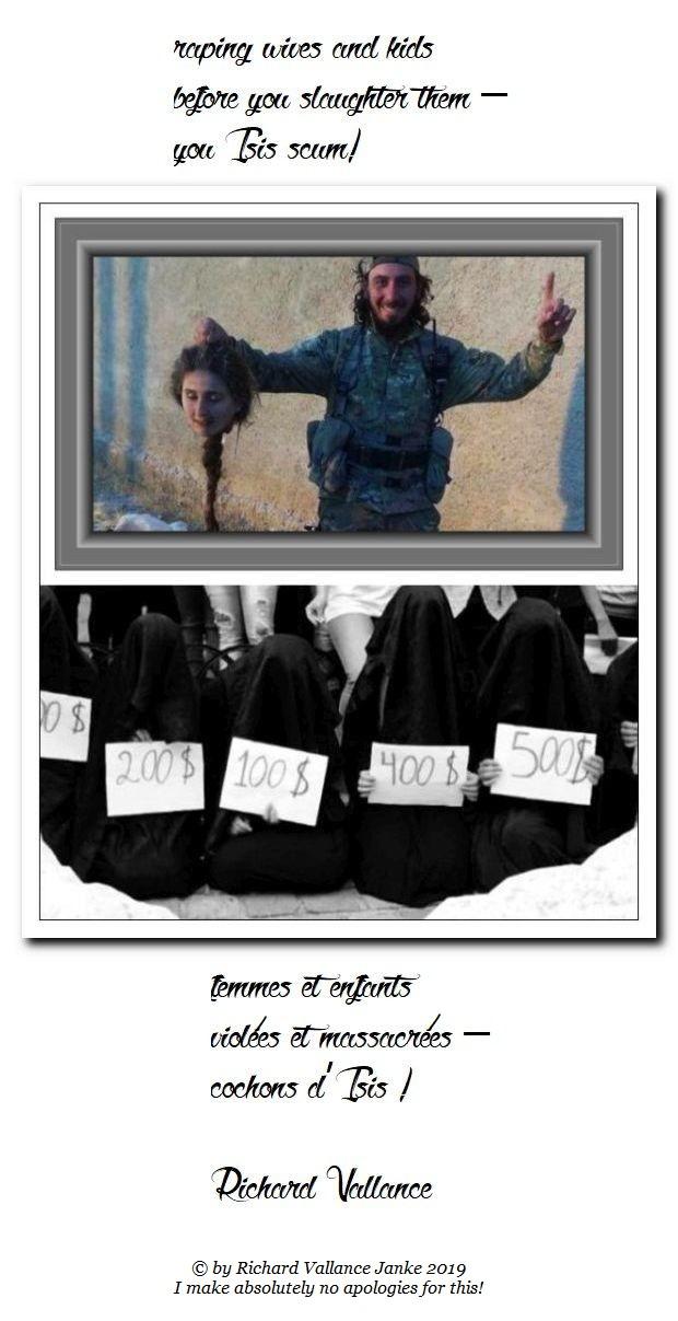 you ISIS scum!