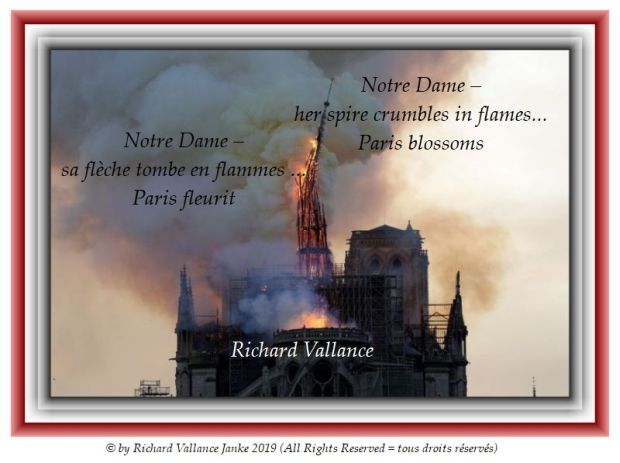 Notre Dame spire fire 620