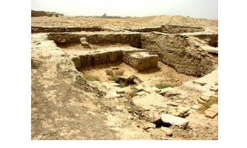 Ancient houses unearthed in Syria